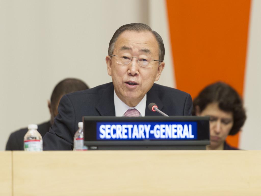 Särskilda högnivåmötet den ekonomiska och sociala råd med Världsbanken, Internationella valutafonden, Världsorganisationen och FN: s konferens om handel och utveckling Anmärkningar av generalsekreteraren