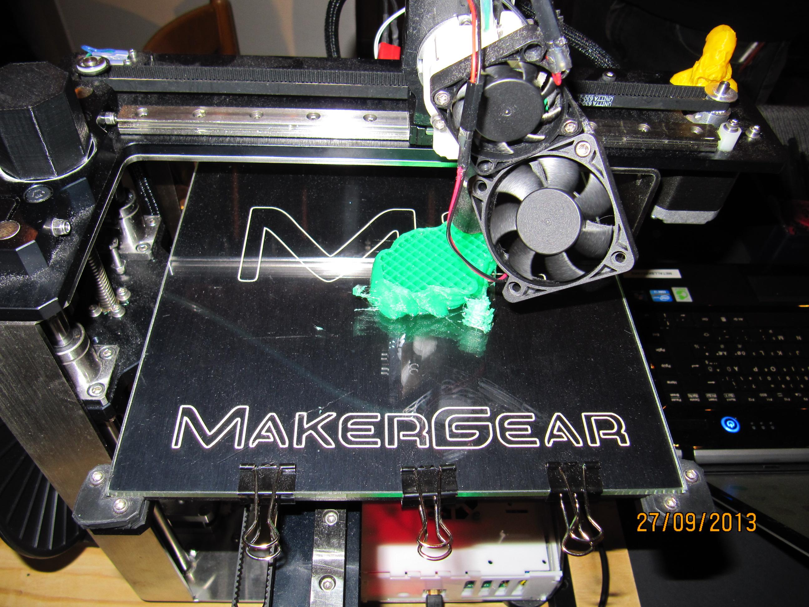 Cellulosa från trä fungerar i 3D-skrivare