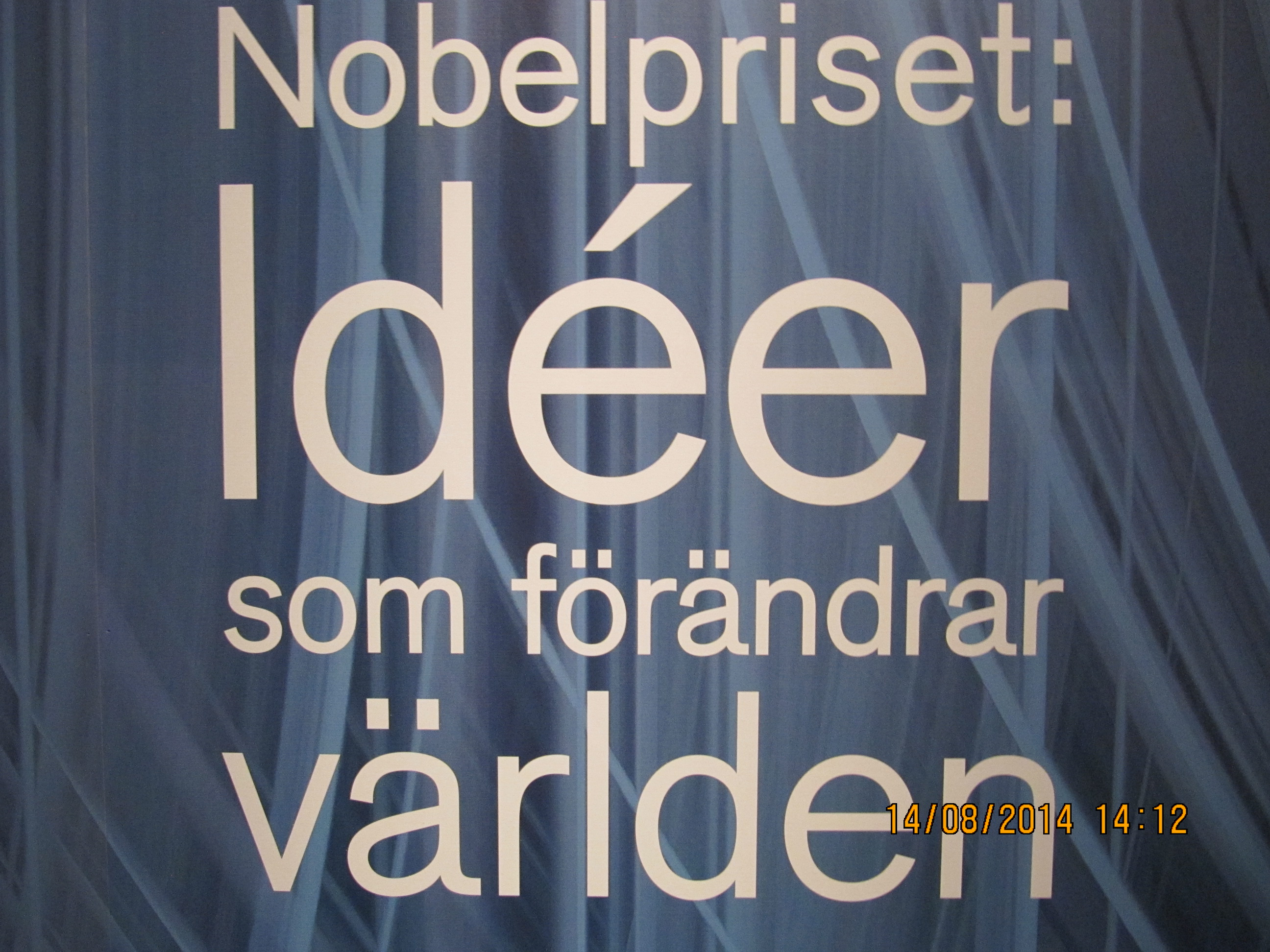 Utställning Nobelpriset: Idéer som förändrar världen