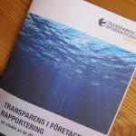 Transparens i företagens rapportering