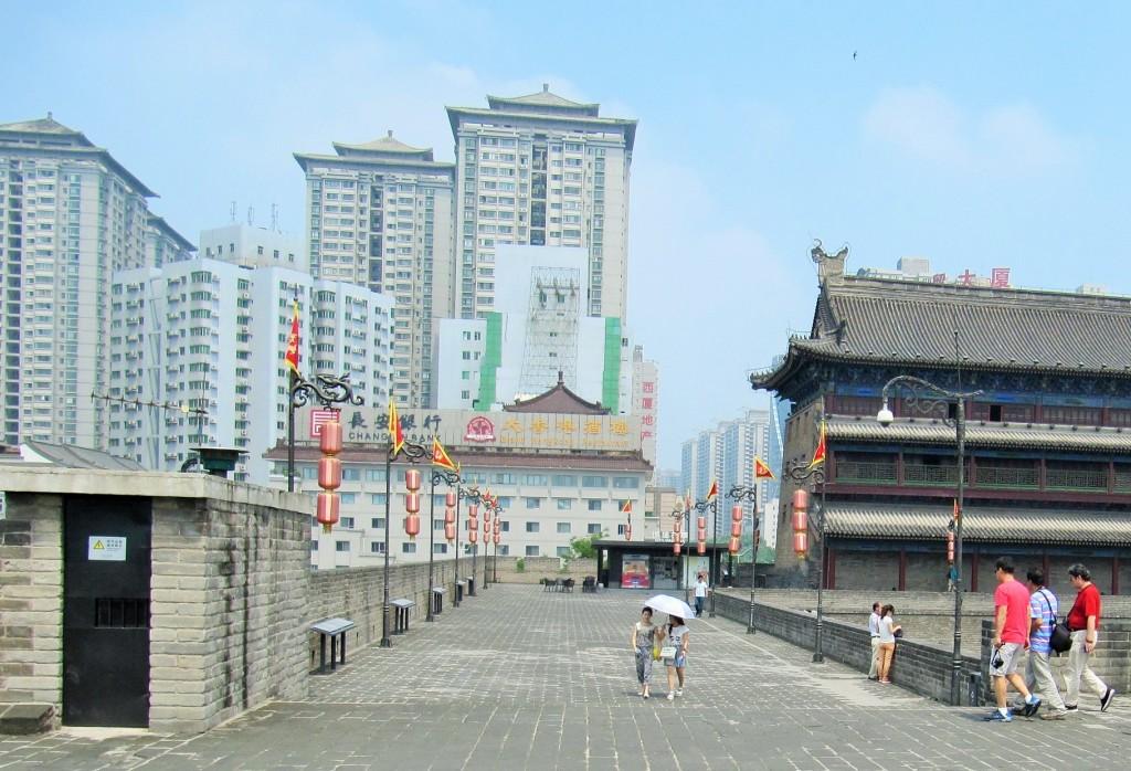 Xián miljonstad i centrala Kina