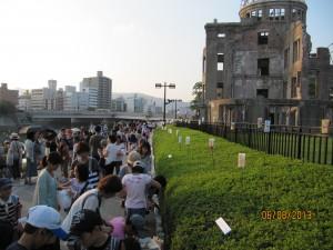 Hiroshima 6 aug 2013