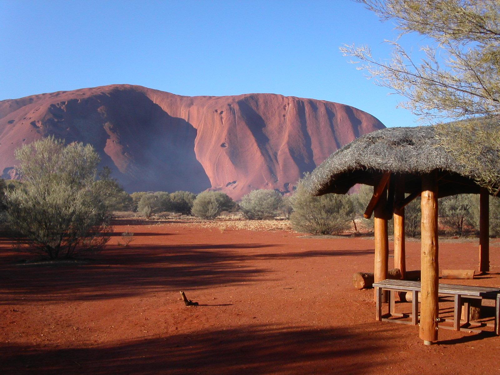 Den spektakulära röda klippan