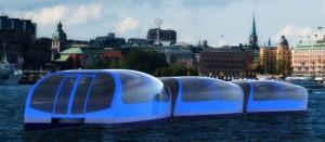 Pendelbåt i Stockholm Bild - KTH-projekt