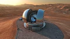 Klartecken för jätteteleskopet E-ELT