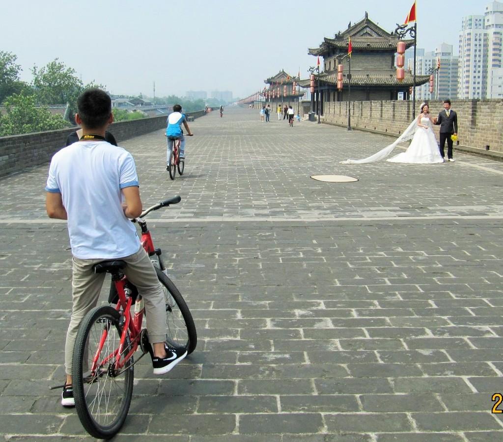 Stadsmuren i Xián