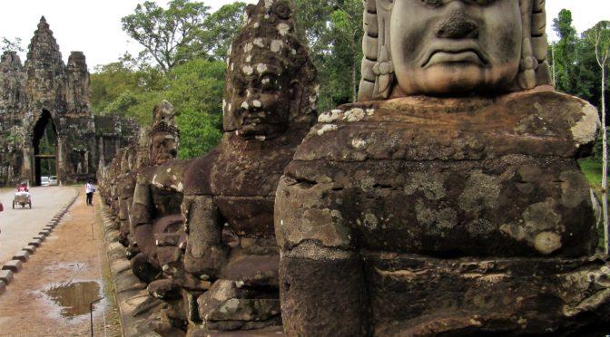 Khmerrikets undergång
